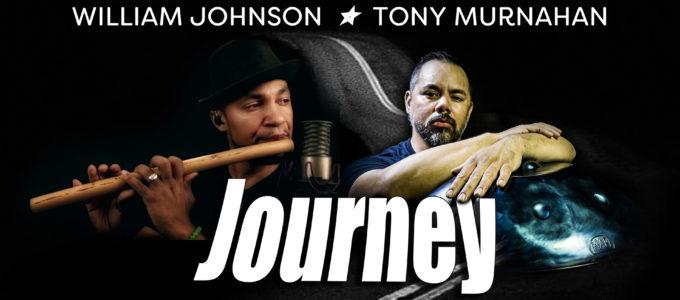 Journey - handpan + percussion + flute